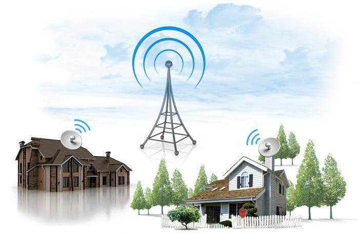 как установить беспроводной интернет на даче